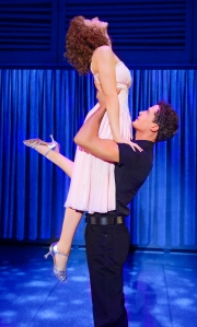 Dirty Dancing UK tour - Jessie Hart as 'Baby' & Lewis Kirk as 'Johnny' - cTristram Kenton