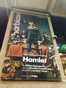 Hamlet at the Barbican