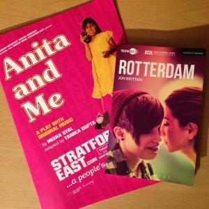 Anita and Me, and Rotterdam