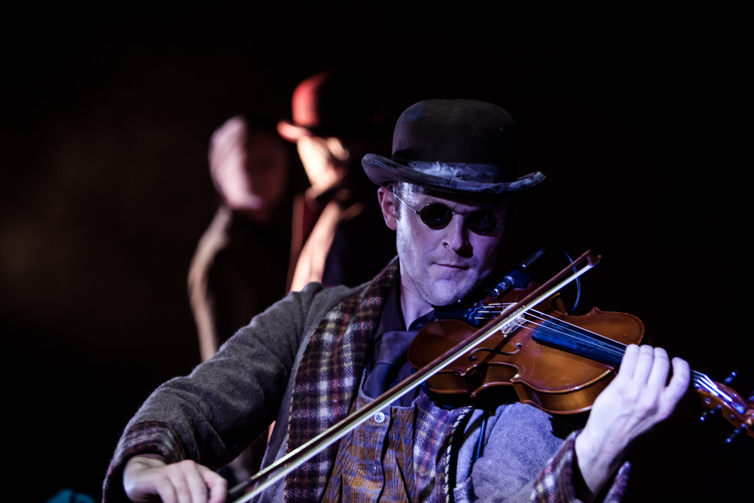 Review blind man s song at the pleasance theatre things