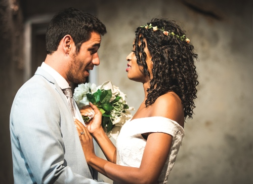 Federico Trujillo and Racheal Ofori (Bride and Groom) low res. pic credit Nick Arthur Daniel